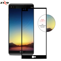 Protect all of your LG V20's beautiful display with the edge to edgy tempered glass screen protector from Zizo. With superb clarity and a durable construction this is the perfect way to keep your screen looking good.