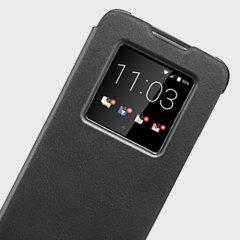 Official Blackberry DTEK60 Smart Flip Case - Black