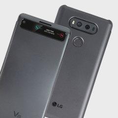 Official LG V20 QuickCover Folio Case - Black