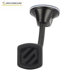 Bénéficiez d'un meilleur angle de vue et d'un positionnement plus adéquat de votre smartphone dans votre véhicule grâce au support voiture magnétique Scosche MagicMount. Compatible avec votre smartphone muni de sa coque, le support voiture magnétique Scosche MagicMount est un moyen idéal de positionner idéalement votre appareil au pare-brise tout comme sur votre tableau de bord (si celui-ci est lisse et plat).