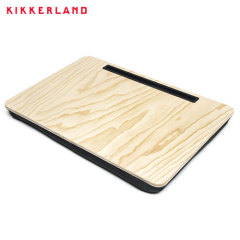 Perfect for travel, work or relaxing, the Kikkerland iBed Extra Large Lap Desk sits comfortably on your lap and supports devices of all shapes and sizes. The natural wood finish complements any room or office, making the iBed ideal wherever you need it.