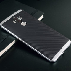 Olixar X-Duo Huawei Mate 9 Hülle in Carbon Fibre Silber