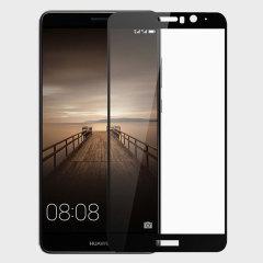 Olixar Huawei Mate 9 Edge to Edge Glass Screen Protector -  Black
