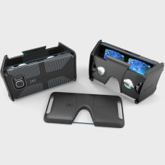 Experience virtual reality with the Pocket-VR Samsung Galaxy S7 Headset from Speck. Featuring a unique fold away design, the Pocket-VR is portable and lightweight, while the included CandyShell case offers great protection for your Galaxy S7.