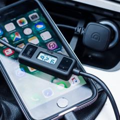Griffin iTrip Lightning FM Transmitter & Car Charger - Black