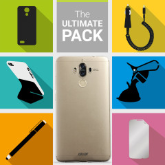 The Ultimate Pack for the Huawei Mate 9 consists of fantastic must have accessories designed specifically for and compatible with the Huawei Mate 9.