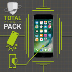 Olixar Total Protection iPhone 7 Case & Screen Protector Pack