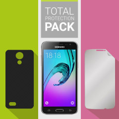 Pack Coque + Protection d'écran Samsung Galaxy J3 2016 Olixar