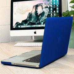 Olixar ToughGuard MacBook Pro 15 inch Hard Case - Dark Blue