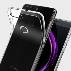 Spigen Liquid Crystal Huawei Honor 8 Skal - Klar