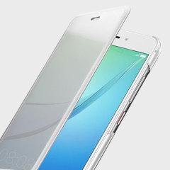 Original Huawei Nova Cover Tasche in Weiß