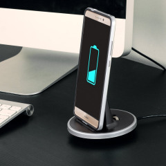 Synchronise and charge your Huawei Mate 9 with this stylish and case compatible desktop dock which also acts as a multimedia stand. Supports USB-C (USB Type-C).