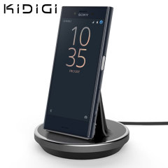 Synchronise and charge your Sony Xperia X Compact with this stylish and case compatible desktop dock which also acts as a multimedia stand. Supports USB-C (USB Type-C).