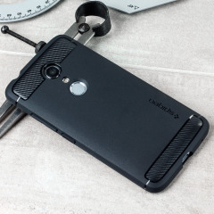 Spigen Rugged Armor ZTE Axon 7 Tough Case Hülle in Schwarz