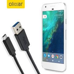 Asegúrese de mantener su Google Pixel siempre cargado y sincronizado gracias a este cable Olixar con conexión USB-C y USB 3.0.