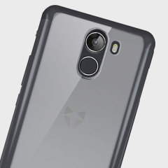 Custom moulded for the Wileyfox Swift 2 Plus, this  clear bumper and frost white back Ultra-Thin case by Olixar provides slim fitting and durable protection against damage while adding next to nothing in size and weight.