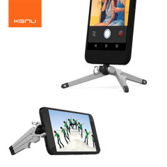 The Kenu Stance is the perfect way to shoot professional looking photos and videos from your USB C smartphone. Mounting directly into the phone's USB Type C port for extra stability at any angle, the Stance is ideal for photos and video calls.