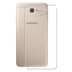Skräddarsydd till din Samsung Galaxy J7 Prime. Det här FlexiShieldskalet kommer från Olixar och erbjuder en smal passform och ett hållbart skydd mot skador.