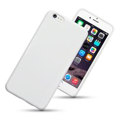 iPhone 6 Plus / 6S Plus Gel Case - Solid White