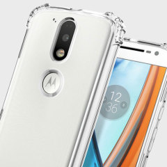 Coque Moto G4 / G4 Plus Spigen Crystal Shell - Transparente