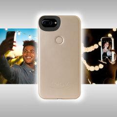 Presentamos la recién diseñada funda Lumee Dos para el iPhone 7 Plus / 6S Plus / 6 Plus. Evolucionando desde el modelo original, este nuevo diseño es más brillante y más delgado, lo que significa que puede tomar aún mejores selfies.