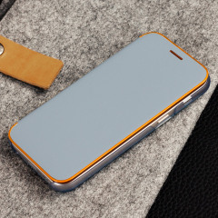 Offizielle Galaxy A3 2017 Neon Flip-Cover Wallet - Blau