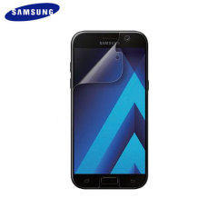 Keep your Samsung Galaxy A5 2017's screen in fantastic condition with the official Samsung scratch resistant screen protector.
