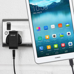 Charge your Huawei MediaPad T1 8.0 quickly and conveniently with this compatible 2.5A high power charging kit. Featuring mains adapter and USB cable.