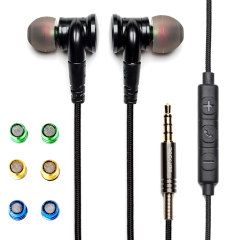Rock Jaw Resonate In-Ear Monitor Earphones with Tuning Filters & Mic