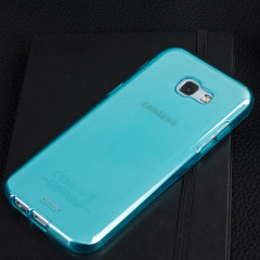Custom moulded for the Samsung Galaxy A5 2017. This blue Olixar FlexiShield case provides a slim fitting stylish design and durable protection against damage, keeping your device looking great at all times.