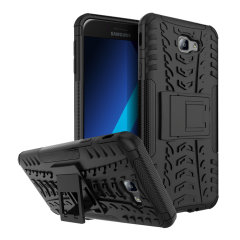 Protect your Samsung Galaxy A5 2017 from bumps and scrapes with this black ArmourDillo case. Comprised of an inner TPU case and an outer impact-resistant exoskeleton, offering sturdy and robust protection, but also a sleek modern styling.