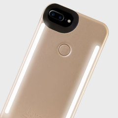 Lumee have further developed the smartphone photography game with the Duo - Double Sided iPhone 7 Plus/6S Plus/6 Plus Case in gold. With front and rear LED lighting, you'll now be able to capture the perfect photo with either your front or back camera.