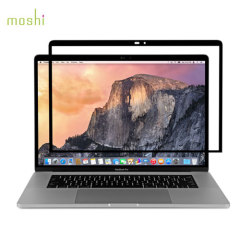 Moshi iVisor Glas Screenprotector MacBook Pro 15 Touch Bar - Zwart