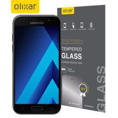 Olixar Samsung Galaxy A5 2017 Tempered Glass Skjermbeskyttelse