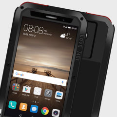 Love Mei Powerful Huawei Mate 9 Hülle Protective Case in Schwarz