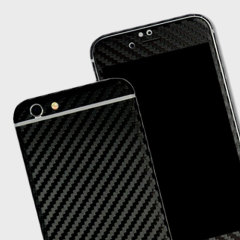 Enhance your iPhone 6S / 6's smooth, sleek appearance with this premium carbon fibre-style 3D textured skin from Easyskinz. Crafted from the world's finest materials and featuring precision tangential cutting for a perfect fit.