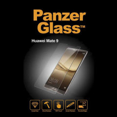 Introducing the PanzerGlass glass screen protector for the Huawei Mate 9. Designed to be shock resistant and scratch resistant, PanzerGlass offers the ultimate protection for your Mate 9's stunning display.