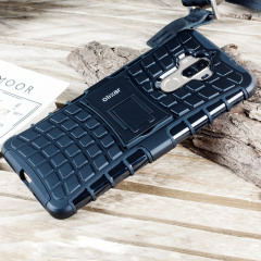 Olixar ArmourDillo Huawei Mate 9 Protective kotelo - Musta