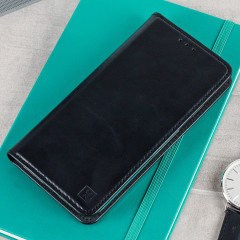 Olixar Genuine Leather Samsung Galaxy A5 2017 Wallet Case - Black