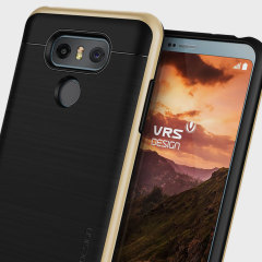 VRS Design High Pro Shield LG G6 Case Hülle - Glanz Gold
