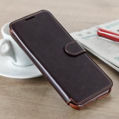 VRS Design Dandy Samsung Galaxy S8 Wallet Case Tasche - Braun