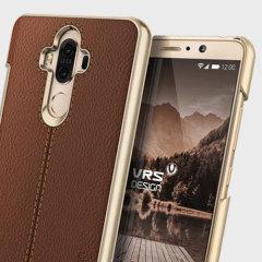 Protégez votre Huawei Mate 9 avec une coque faite sur mesure de la marque VRS Design. Elle fine, solide et se compose d'un matériau en simili cuir ainsi que d'une partie en polycarbonate.