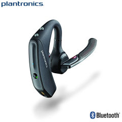 Perfect for the professional on the move, the Plantronics Voyager 5200 Bluetooth Headset is crammed full of features to enhance your productivity - voice alerts, quick pairing, a portable charging case and much, much more.
