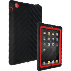 La funda DropTech de Gumdrop para el iPad 4 / 3 / 2 cuenta con un bumper de goma reforzada, lo que le permite mantener su precioso nuevo iPad seguro y a salvo en todo momento