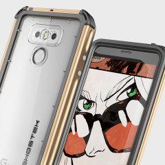 Ghostek Atomic 3.0 LG G6 Waterproof Tough Case - Gold