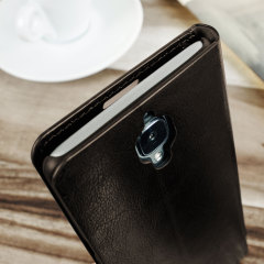 Olixar Leather-Style OnePlus 3T / 3 Wallet Stand Case - Brown