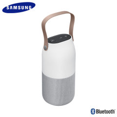 Enceinte Bluetooth Officielle Samsung Bottle portable – Argent