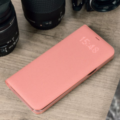 Funda Samsung Galaxy S8 Plus Oficial LED Flip Wallet - Rosa