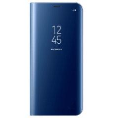 Cover originale Clear View Samsung per Galaxy S8 Plus - Blu