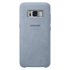 Official Samsung Galaxy S8 Plus Alcantara Cover Case - Mint